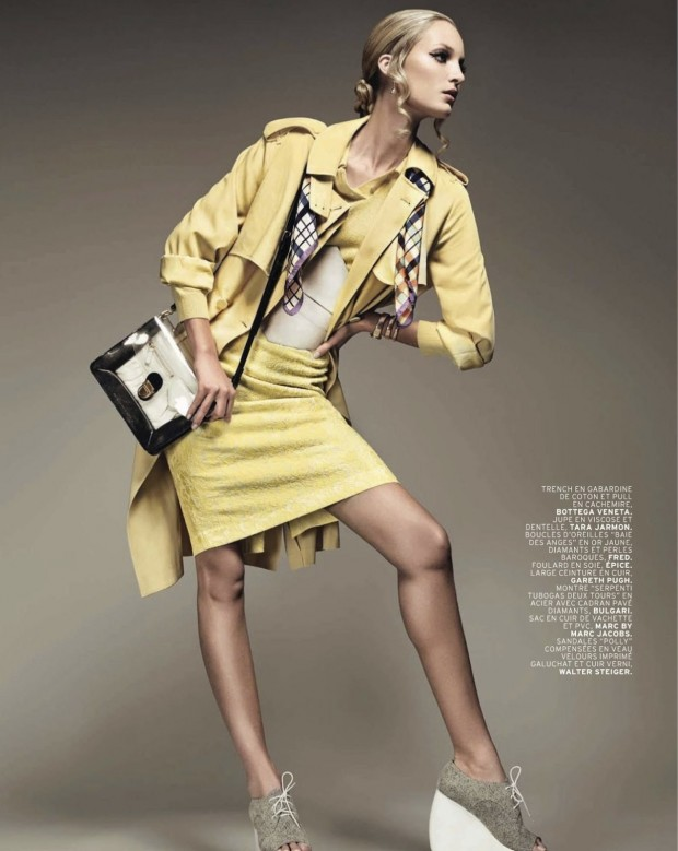 05 Theres Alexandersson Preps for Rain in LOfficiel Paris March Issue by Jonathan Segade