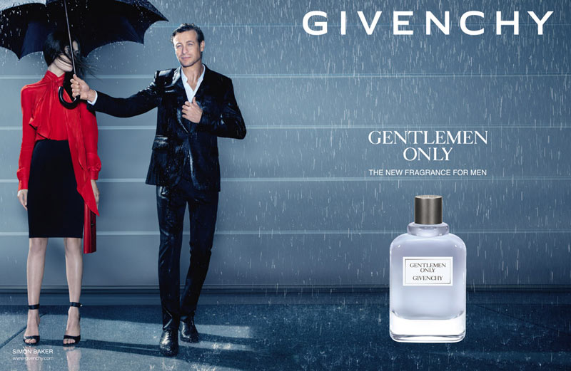 2013 GENTLEMEN ONLY MODEL Givenchy Introduces Gentlemen Only Fragrance Campaign with Simon Baker