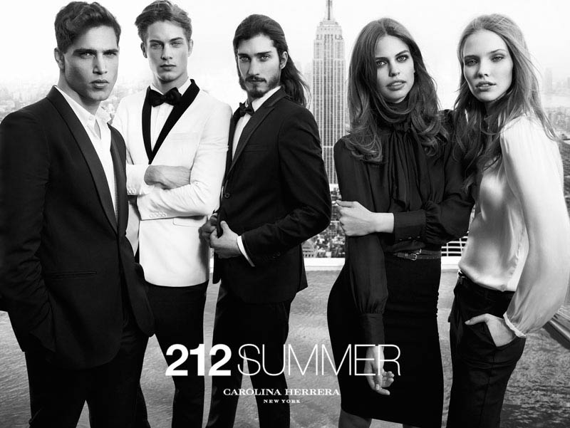 212 summer by hunterandgatti 09 Sasha Luss and Lauren Auerbach Dive in for 212 Summer Carolina Herrera Campaign by Hunter & Gatti
