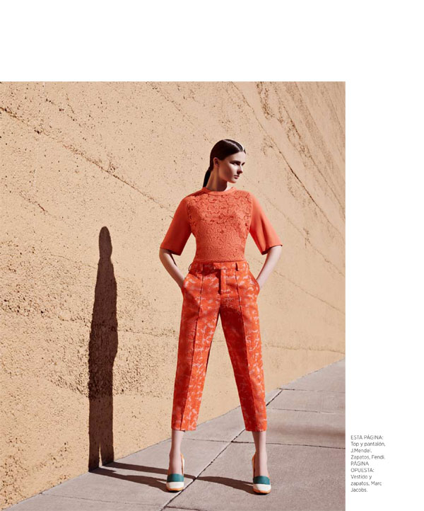 BazaarLA4 Vasilisa Pavlova Models Sleek Spring Style for Harpers Bazaar Latin America