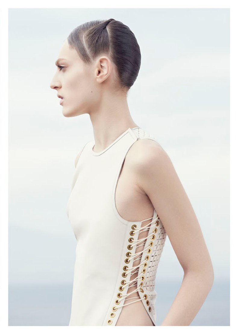 Othilia Simon Keeps it Minimal for Julia Noni in Vogue Japan May 2013