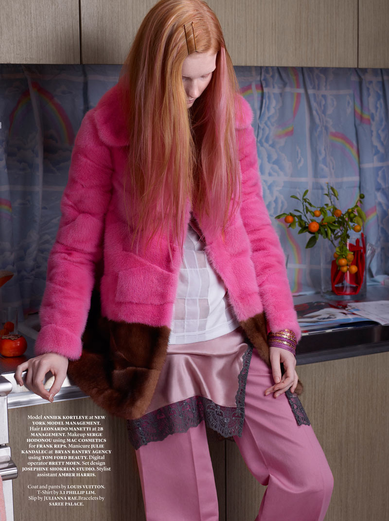 CATHERINESERVEL DOCUMENT 2 Anniek Kortieve Gets Domestic for Document Journal S/S 2013 by Catherine Servel
