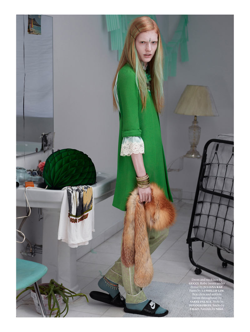 Anniek Kortieve Gets Domestic for Document Journal S/S 2013 by Catherine Servel