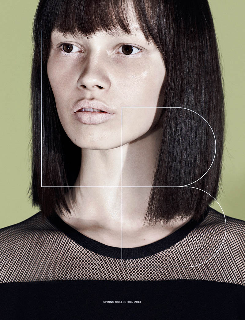 Lida Baday Enlists Ranya Mordanova for its Spring 2013 Campaign by Chris Nicholls