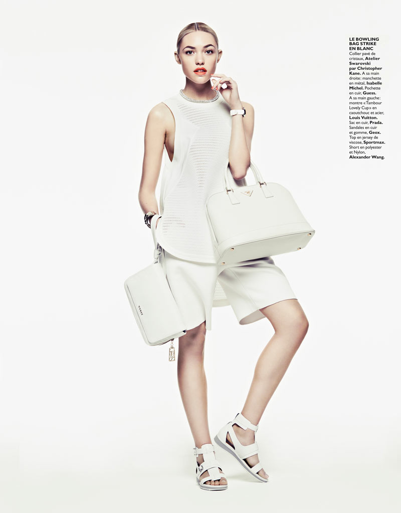 CoraKeeganGrazia10 Cora Keegan Sports Neutral Shades for Grazia France by Honer Akrawi