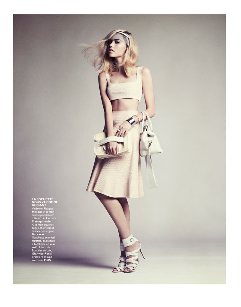 CoraKeeganGrazia12 Cora Keegan Sports Neutral Shades for Grazia France by Honer Akrawi
