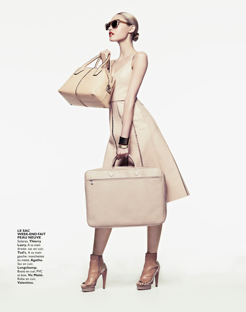 CoraKeeganGrazia19 Cora Keegan Sports Neutral Shades for Grazia France by Honer Akrawi
