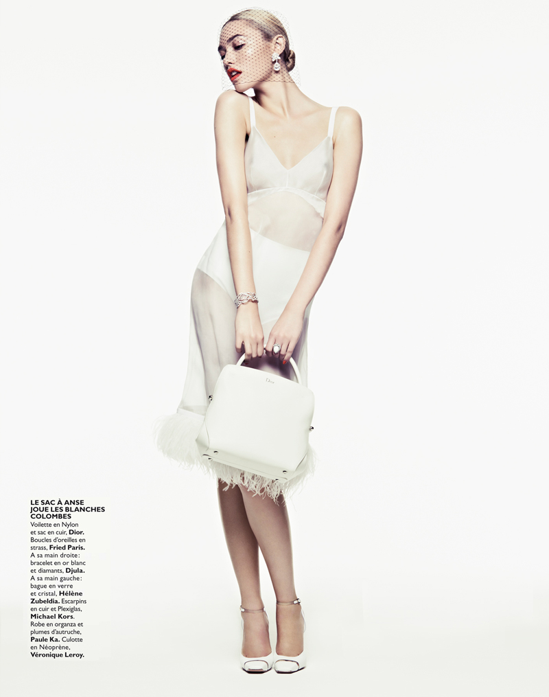 CoraKeeganGrazia2 Cora Keegan Sports Neutral Shades for Grazia France by Honer Akrawi