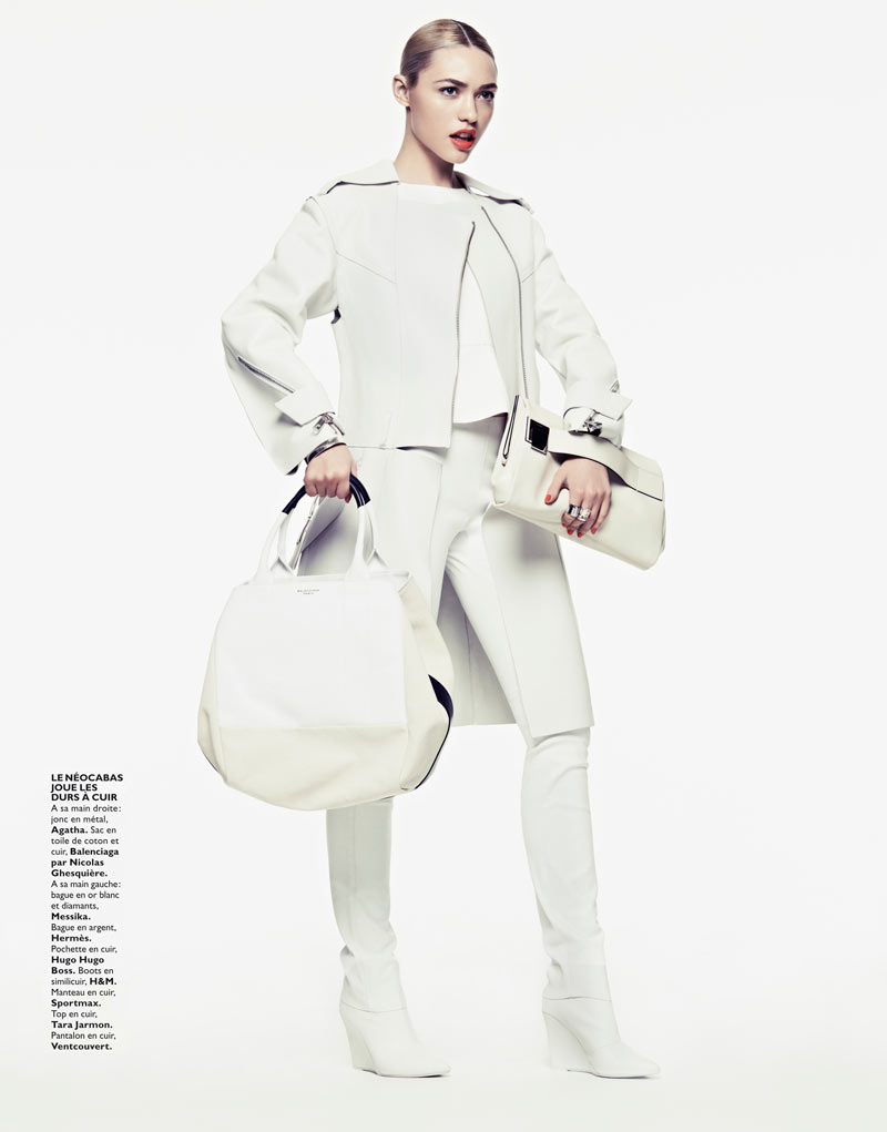 CoraKeeganGrazia21 Cora Keegan Sports Neutral Shades for Grazia France by Honer Akrawi