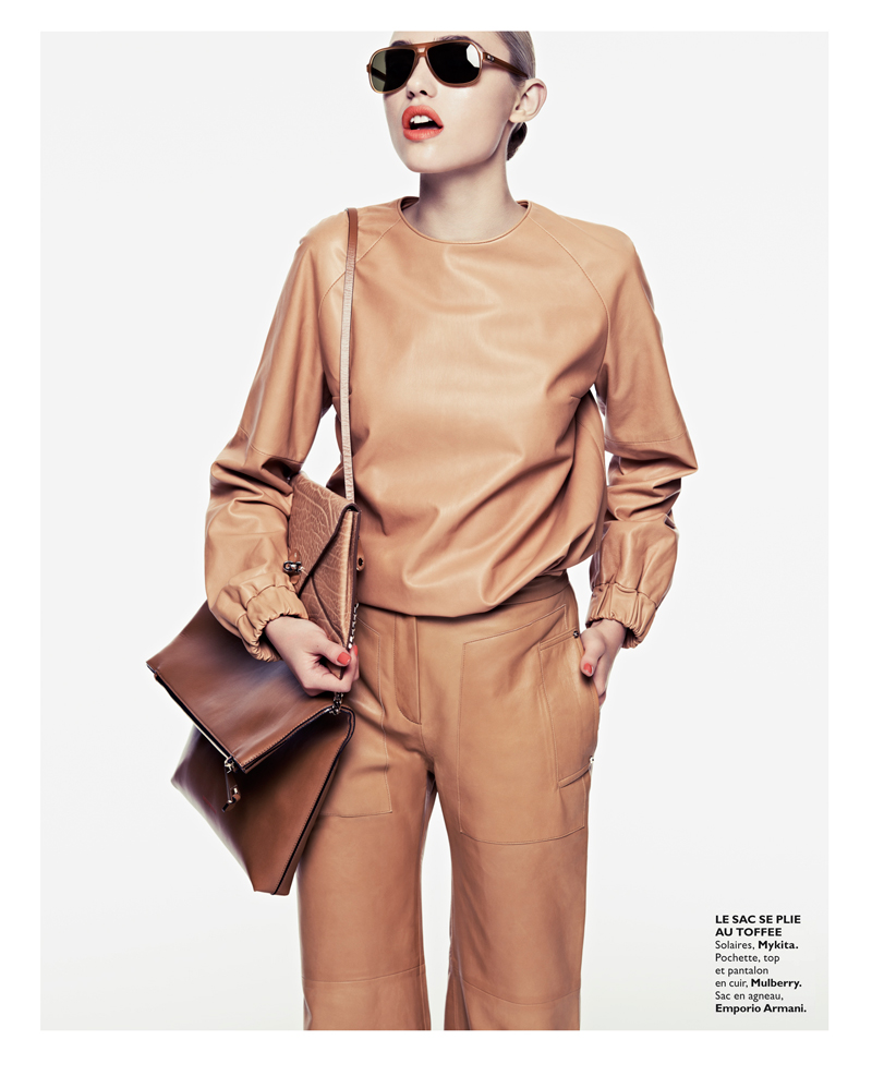 Cora Keegan Sports Neutral Shades for Grazia France by Honer Akrawi