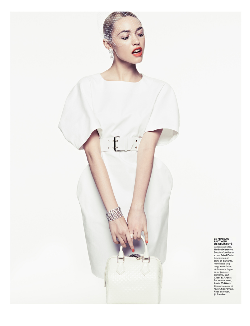 CoraKeeganGrazia6 Cora Keegan Sports Neutral Shades for Grazia France by Honer Akrawi