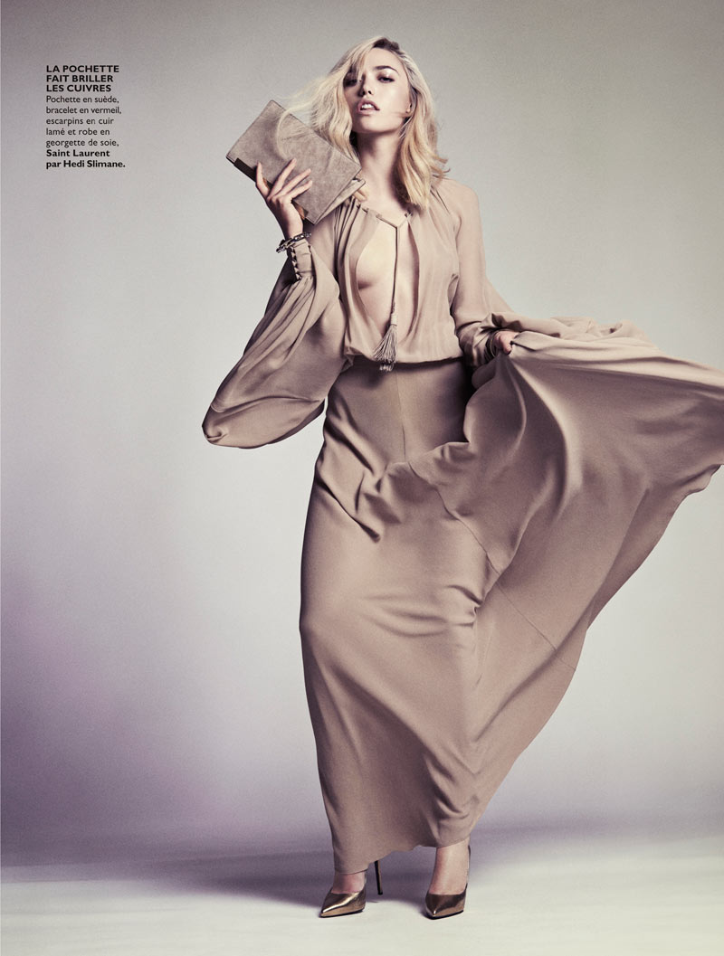CoraKeeganGrazia7 Cora Keegan Sports Neutral Shades for Grazia France by Honer Akrawi