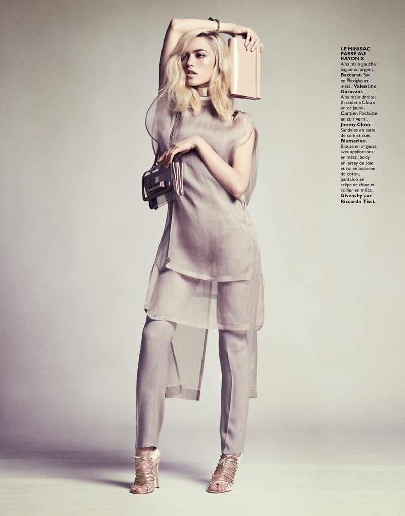 CoraKeeganGrazia8 Cora Keegan Sports Neutral Shades for Grazia France by Honer Akrawi