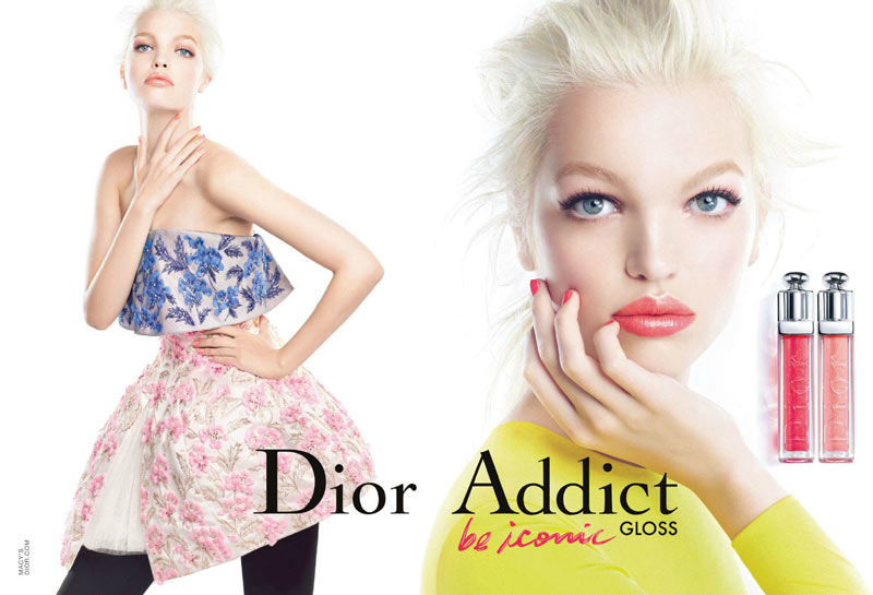 Daphne Dior Beauty1 Daphne Groeneveld Fronts Dior Addict Gloss Campaign