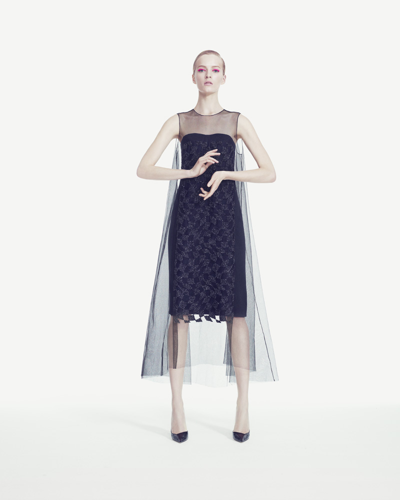 DariaStrokousDior2 Daria Strokous is Refined in Dior for Bergdorf Goodman by Sofia & Mauro