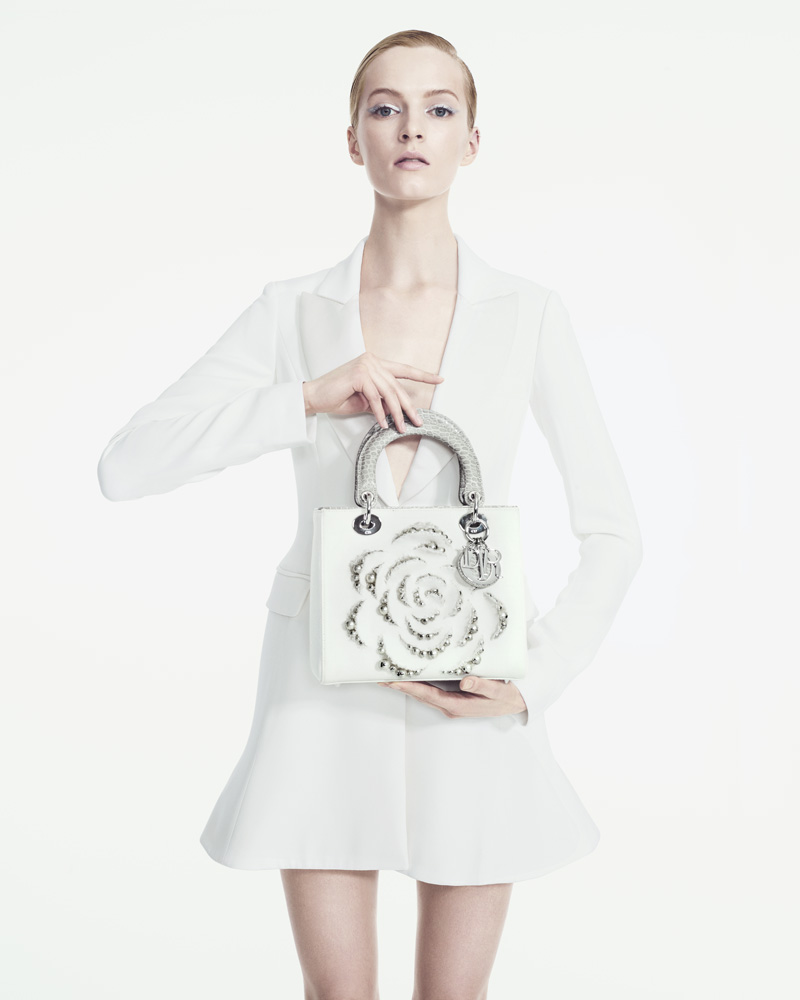 DariaStrokousDior3 Daria Strokous is Refined in Dior for Bergdorf Goodman by Sofia & Mauro