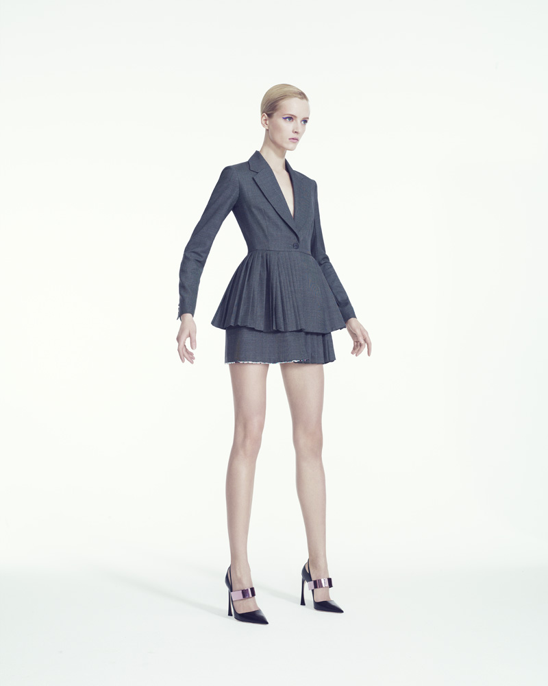 DariaStrokousDior4 Daria Strokous is Refined in Dior for Bergdorf Goodman by Sofia & Mauro