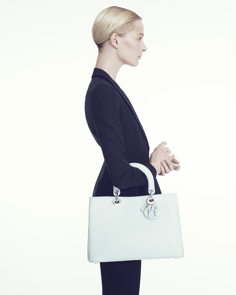 DariaStrokousDior6 Daria Strokous is Refined in Dior for Bergdorf Goodman by Sofia & Mauro