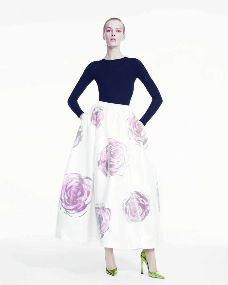 DariaStrokousDior7 Daria Strokous is Refined in Dior for Bergdorf Goodman by Sofia & Mauro