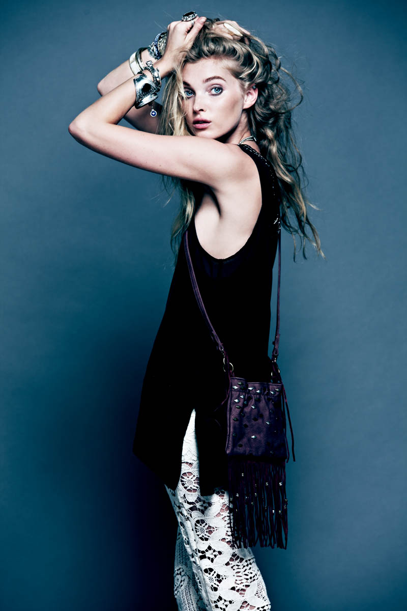 Dark Romance 16 Free People Gets Dark for its March Lookbook Starring Elsa Hosk