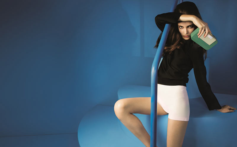 Zuzanna Bijoch Dives Into the Blue for Devi Kroell's Spring 2013 Campaign