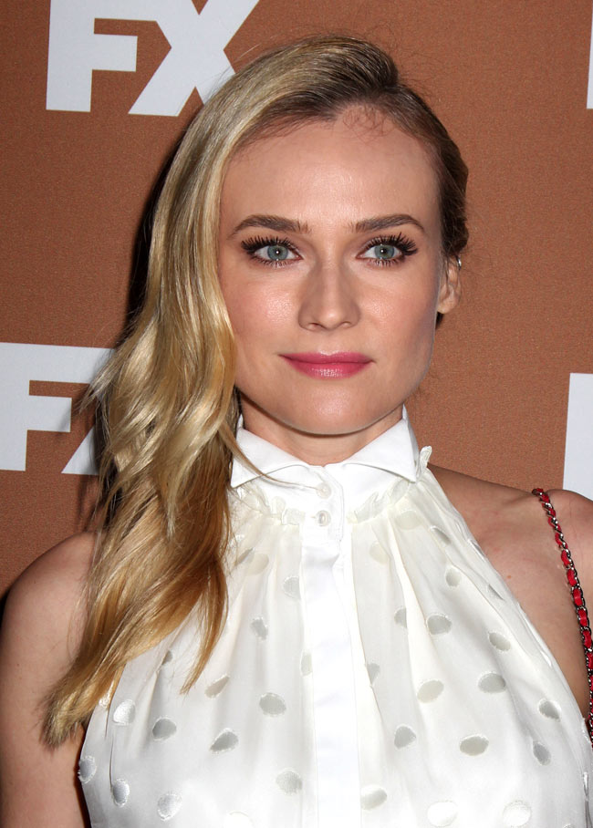 Diane Jason Wu1 Diane Kruger in Jason Wu at the 2013 FX Upfront Bowling Event