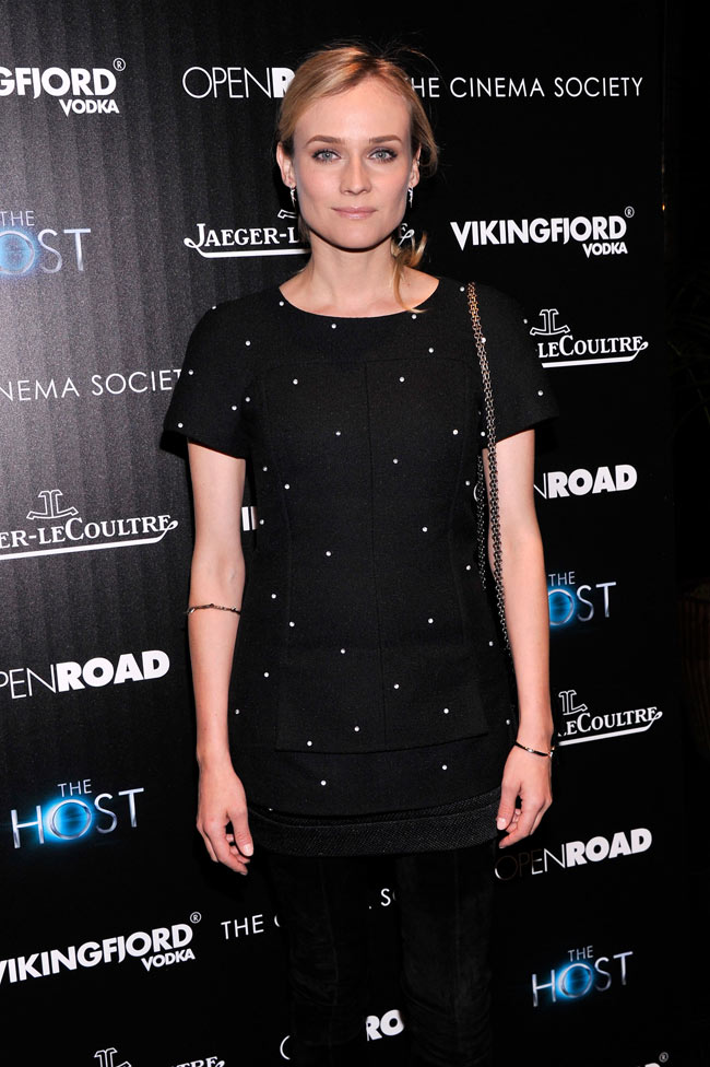 Diane Kruger Chanel2 Diane Kruger in Chanel at The Host NYC Screening