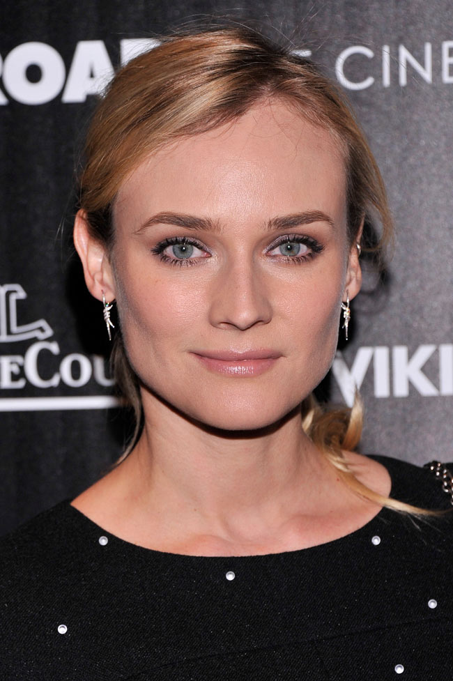 Diane Kruger Chanel3 Diane Kruger in Chanel at The Host NYC Screening
