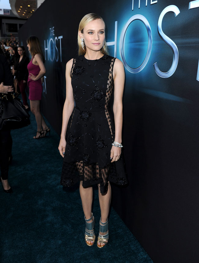 Diane Kruger Thakoon1 Diane Kruger in Thakoon at The Host Los Angeles Premiere