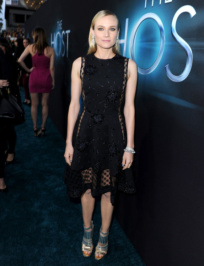 Diane Kruger Thakoon2 Diane Kruger in Thakoon at The Host Los Angeles Premiere