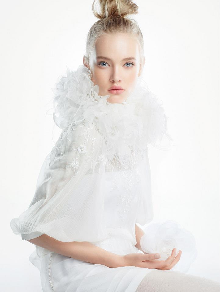 DiorSnow1 DiorSnow Enlists Emma Landen for Spring 2013 Campaign