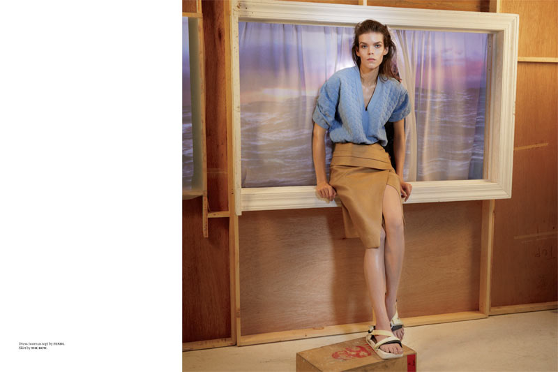 Meghan Collison is Surfer Chic for Document Journal S/S 2013 by Will Davidson