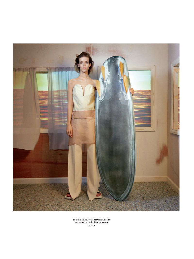 Document Meghan Collison 5 Meghan Collison is Surfer Chic for Document Journal S/S 2013 by Will Davidson