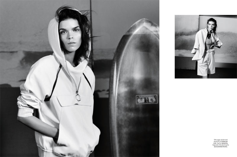 Document Meghan Collison 7 Meghan Collison is Surfer Chic for Document Journal S/S 2013 by Will Davidson
