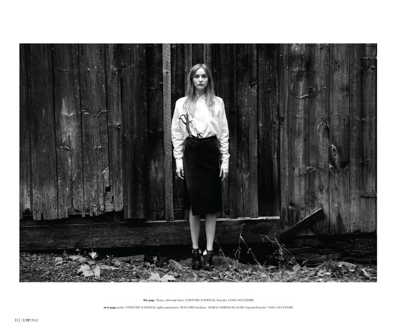 Dorothea Barth Jorgensen Poses for Dennis Golonka in Un-titled Project #5