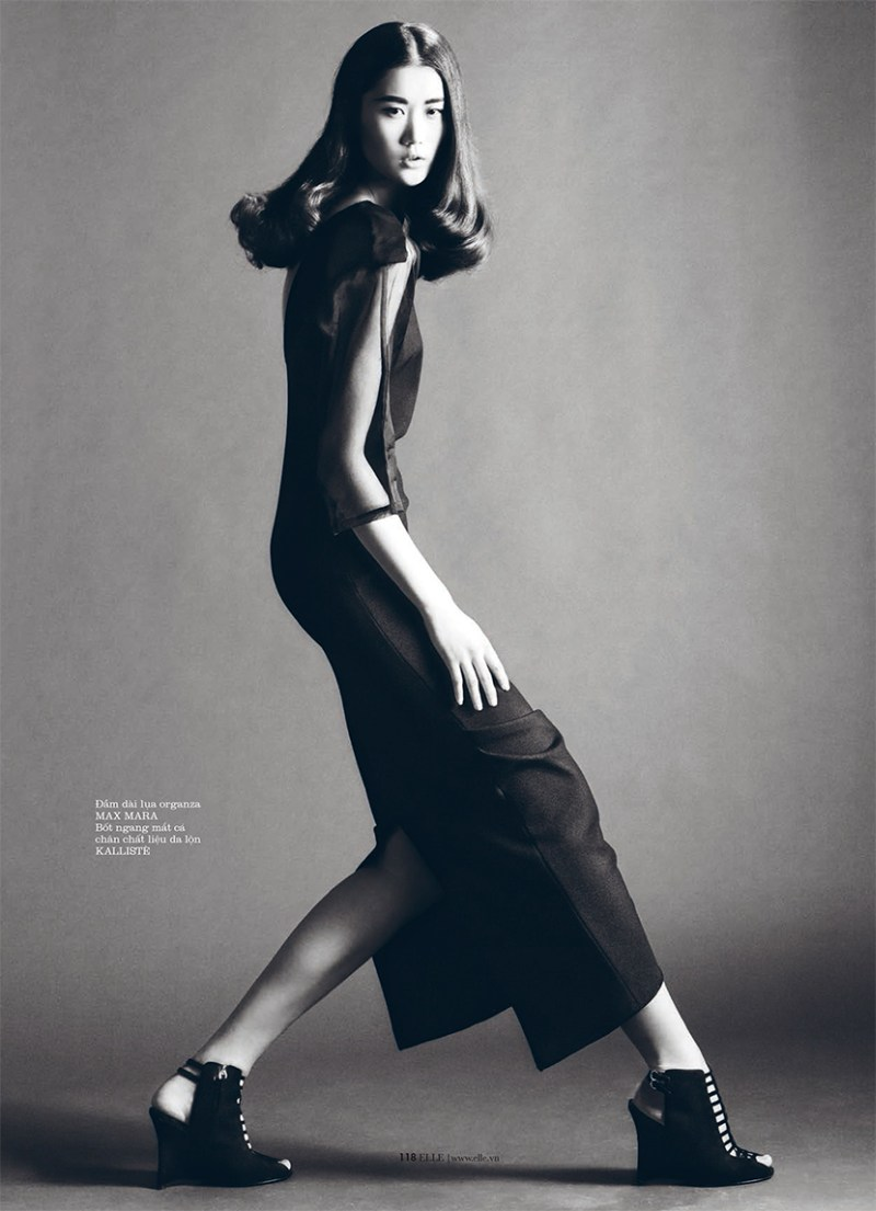 ElleVietnamShoot4 Xiao Wei Sports Spring Looks for Elle Vietnam April 2013 by Riccardo Vimercati