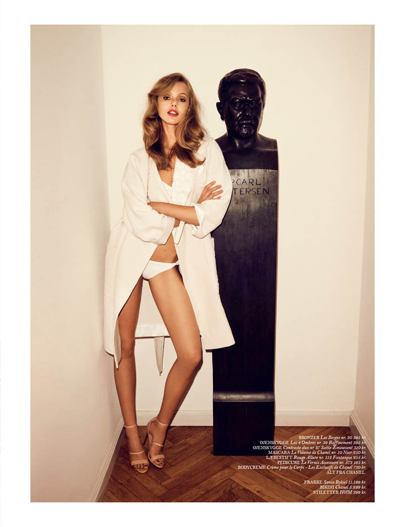 Frida Gustavsson Stars in Cover Magazine's April Issue