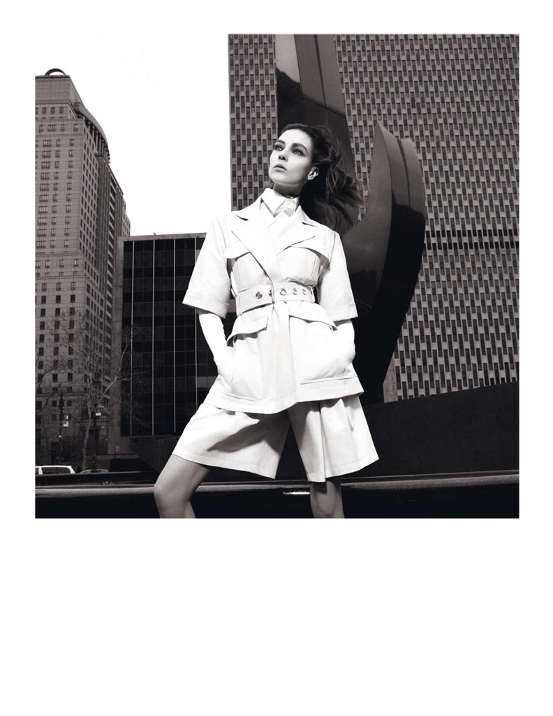 Glen Luchford x Marie Chaix NY Part 5 10 Kati Nescher Enchants the City for Vogue Paris March 2013 by Glen Luchford