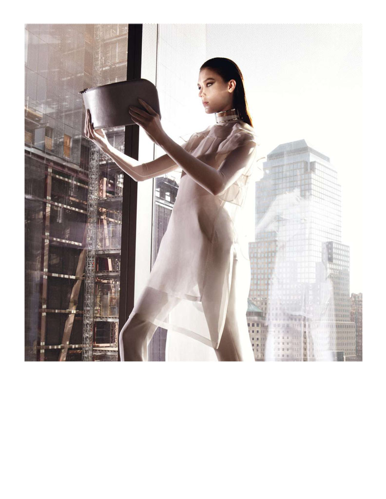 Glen Luchford x Marie Chaix NY Part 5 12 Kati Nescher Enchants the City for Vogue Paris March 2013 by Glen Luchford