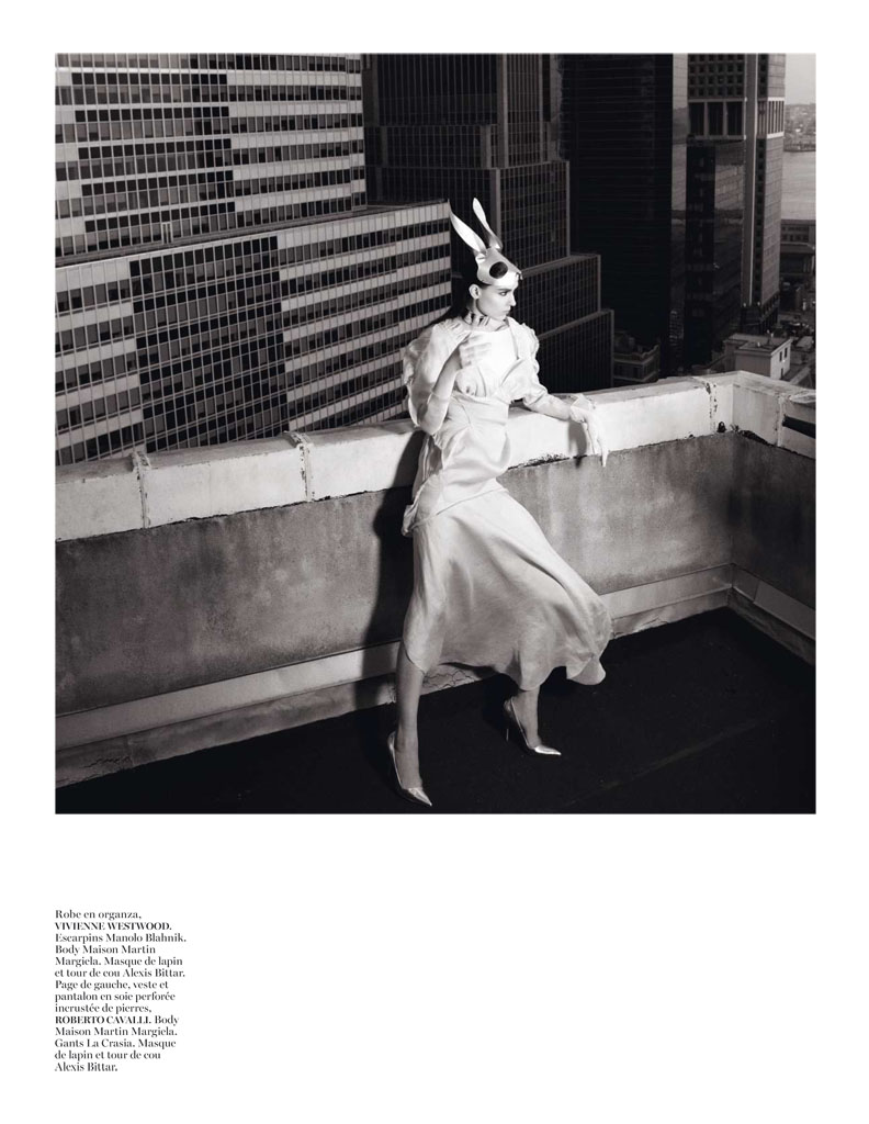 Glen Luchford x Marie Chaix NY Part 5 2 Kati Nescher Enchants the City for Vogue Paris March 2013 by Glen Luchford