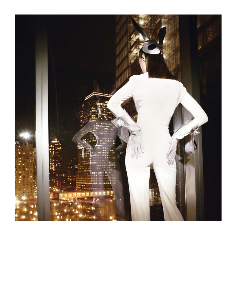 Glen Luchford x Marie Chaix NY Part 5 4 Kati Nescher Enchants the City for Vogue Paris March 2013 by Glen Luchford