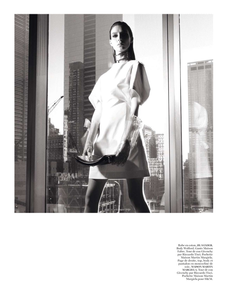 Glen Luchford x Marie Chaix NY Part 5 7 Kati Nescher Enchants the City for Vogue Paris March 2013 by Glen Luchford