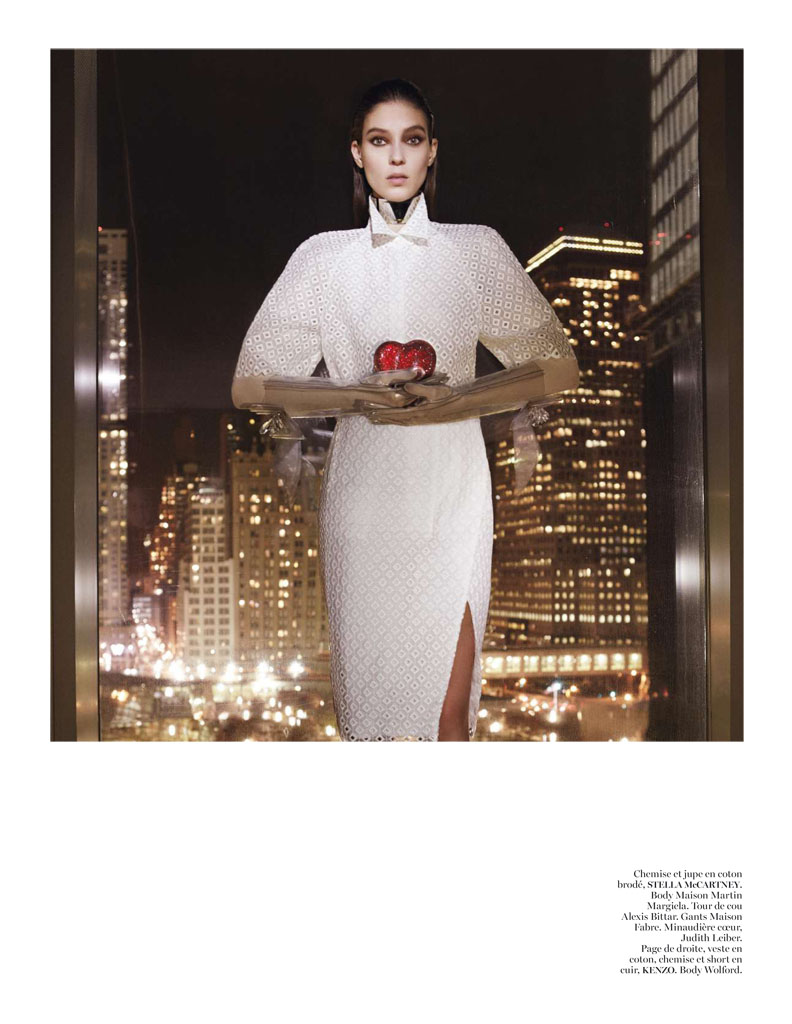 Glen Luchford x Marie Chaix NY Part 5 9 Kati Nescher Enchants the City for Vogue Paris March 2013 by Glen Luchford