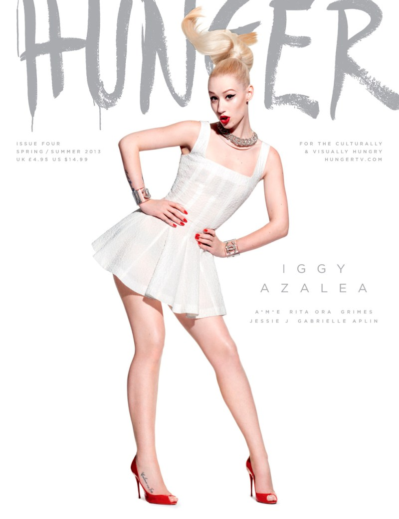 HungerCovers2 Rita Ora, Jessie J,  Iggy Azalea and More Cover HUNGER Magazine #4