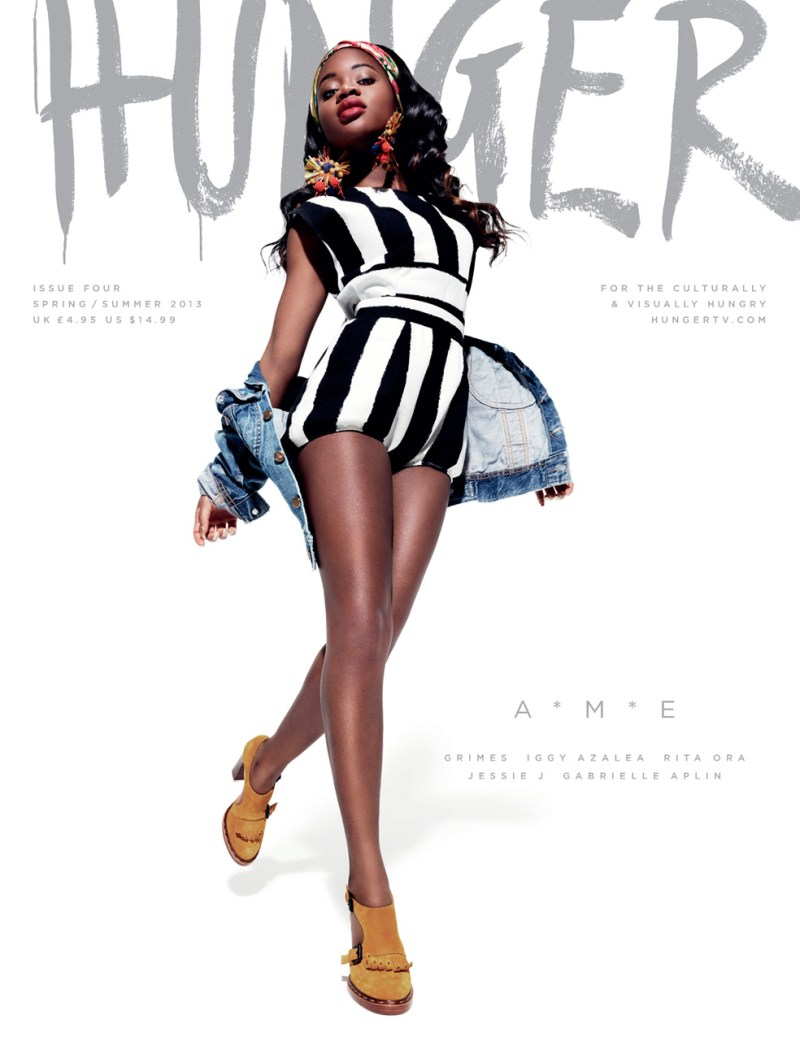 HungerCovers5 Rita Ora, Jessie J,  Iggy Azalea and More Cover HUNGER Magazine #4