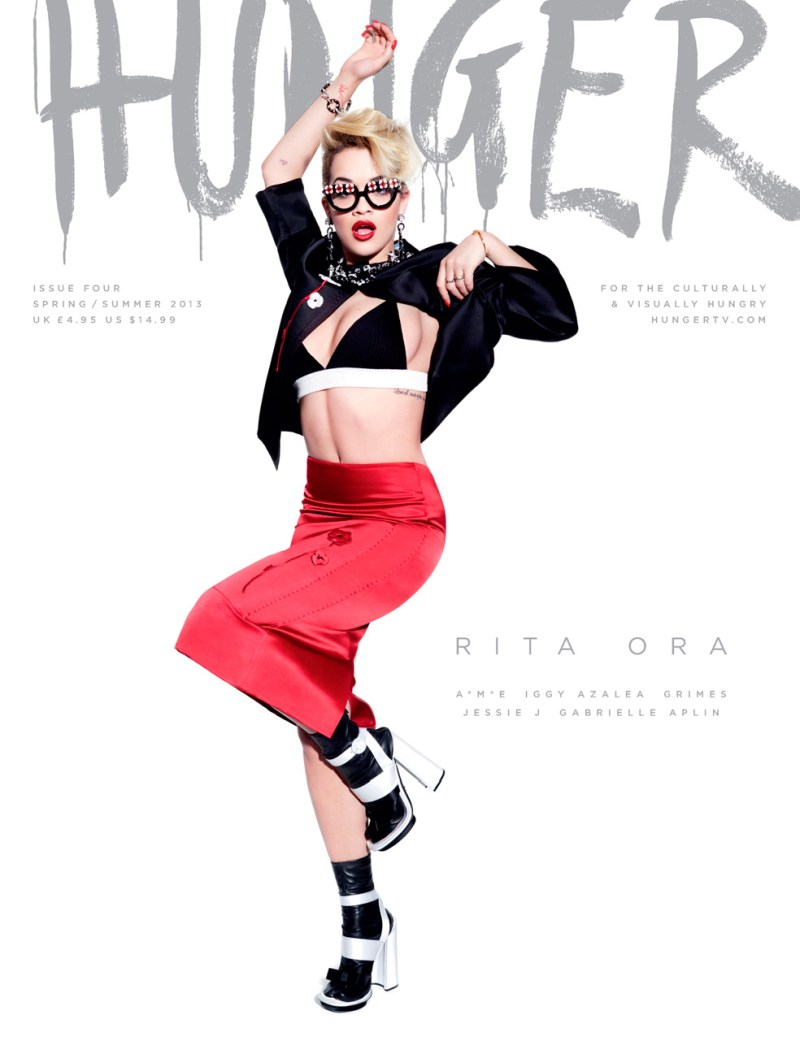 HungerCovers6 Rita Ora, Jessie J,  Iggy Azalea and More Cover HUNGER Magazine #4