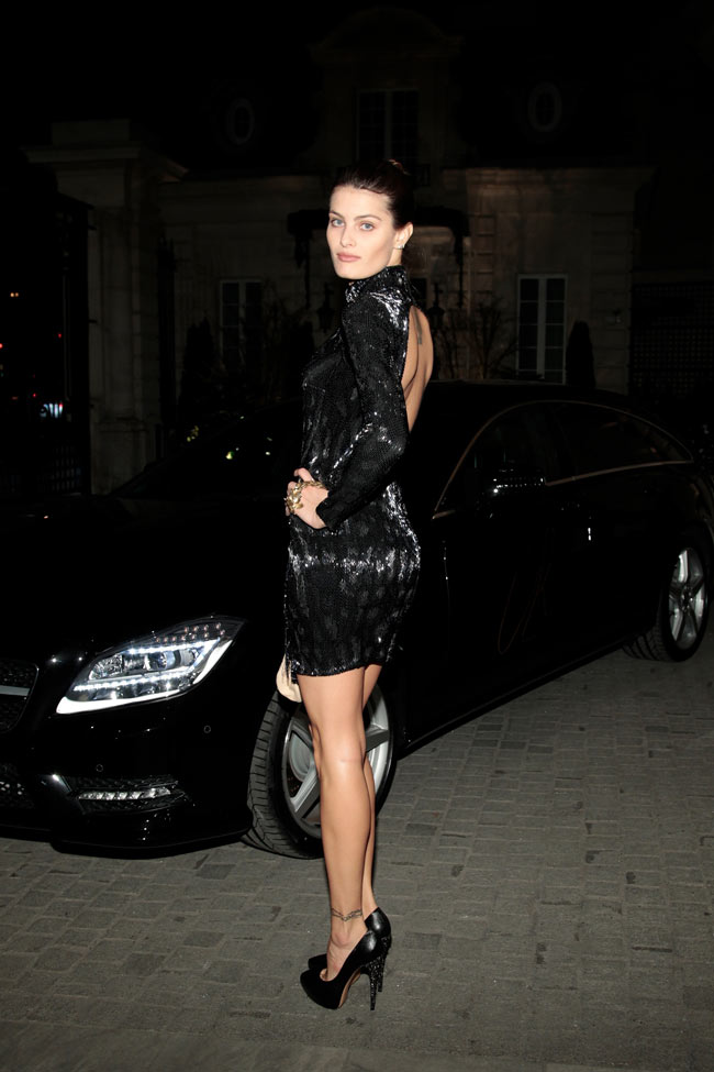 Isabeli Fontana Cavalli1 Isabeli Fontana in Roberto Cavalli at the Launch of CR Fashion Book Issue 2