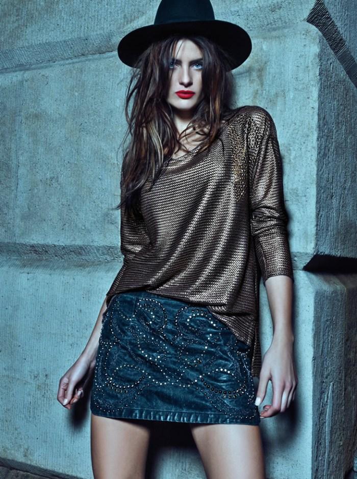 IsabeliMorenaRosa15 Isabeli Fontana Rocks Glamorous Style for Morena Rosa Fall 2013 Campaign