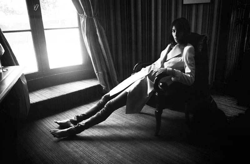 JamieBochertVice1 Jamie Bochert Poses for Samantha Rapp in Vice Magazine