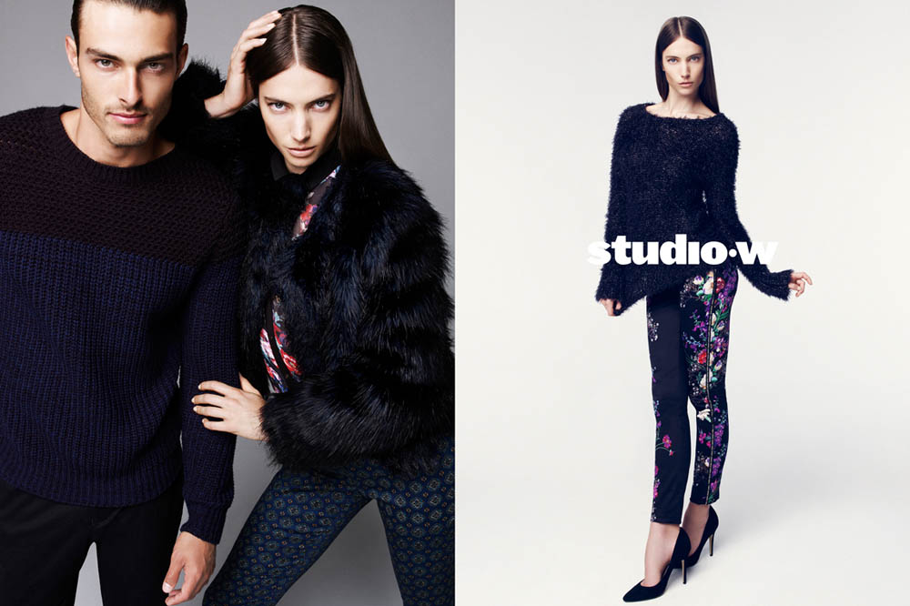 JessicaMillerStudioW1 Jessica Miller Fronts the Studio W Spring 2013 Campaign by Nagi Sakai